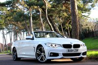 2014 BMW 4 SERIES 428i M SPORT CONVERTIBLE 245BHP £SOLD