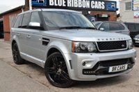 USED 2009 59 LAND ROVER RANGE ROVER SPORT 3.0 TDV6 HSE 5d 245 BHP GENUINE OVERFINCH GTS, BIG SPEC