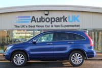 USED 2010 10 HONDA CR-V 2.2 I-DTEC EX 5d AUTO 148 BHP LOW DEPOSIT OR NO DEPOSIT FINANCE AVAILABLE