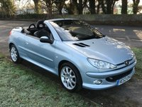 USED 2003 53 PEUGEOT 206 2.0 ALLURE SE COUPE CABRIOLET 2d 135 BHP