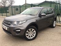 2015 LAND ROVER DISCOVERY SPORT 2.2 SD4 SE TECH 5d AUTO 190 BHP 7 SEATER SAT NAV LEATHER ONE OWNER  £18990.00