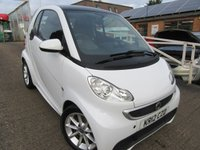 2012 SMART FORTWO 1.0 PASSION MHD 2d AUTO 71 BHP £3600.00