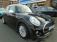 USED 2015 65 MINI HATCH COOPER 1.5 COOPER 5d AUTO 134 BHP SAT NAV, LOW MILES