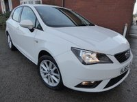 2015 SEAT IBIZA 1.4 TOCA 5d 85 BHP, Sat Nav & Extra Specification £7150.00