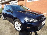 2014 VOLKSWAGEN GOLF 1.4 MATCH TSI BLUEMOTION TECHNOLOGY 3d 120 BHP £9800.00