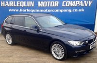 USED 2015 15 BMW 3 SERIES 2.0 318D LUXURY TOURING 5d AUTO 141 BHP