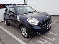 2013 MINI COUNTRYMAN 1.6 ONE D 5d 90 BHP £8975.00