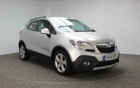 USED 2014 14 VAUXHALL MOKKA 1.7 TECH LINE CDTI S/S 5DR 128 BHP SAT NAV FULL SERVICE HISTORY £30 ROAD TAX 1 OWNER FULL SERVICE HISTORY + £30 12MONTHS ROAD TAX + SATELLITE NAVIGATION + PARKING SENSOR + BLUETOOTH + CRUISE CONTROL + CLIMATE CONTROL + MULTI FUNCTION WHEEL + RADIO/CD/AUX/USB + 18 INCH ALLOY WHEELS