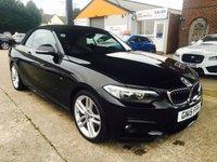 2015 BMW 2 SERIES 2.0 220D M SPORT 2d 188 BHP £16450.00