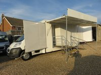 2011 PEUGEOT BOXER 2.2 HDI 335 LWB 118 BHP MOBILE EXHIBITION UNIT 14007 MILES ONLY £19995.00