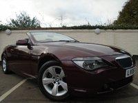 2006 BMW 6 SERIES 3.0 630I 2d AUTO 255 BHP CONVERTIBLE £6999.00