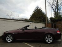USED 2006 06 BMW 6 SERIES 3.0 630I 2d AUTO 255 BHP CONVERTIBLE GUARANTEED TO BEAT ANY 'WE BUY ANY CAR' VALUATION ON YOUR PART EXCHANGE