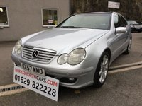 USED 2007 57 MERCEDES-BENZ C CLASS 2.1 C220 CDI SE SPORTS 3d AUTO 148 BHP **STUNNING**AUTO DIESEL**£5000 OF FACTORY EXTRAS**