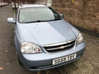USED 2009 CHEVROLET LACETTI 1.6 SX SW 5d 108 BHP