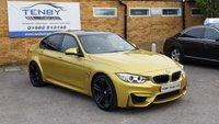 2015 BMW M3 3.0 M3 4d AUTO 426 BHP £34487.00