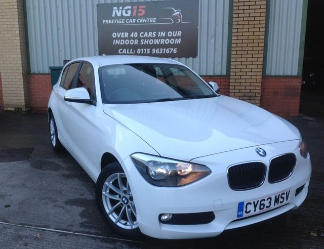 2013 63 BMW 1 SERIES 2.0 116d SE Sports Hatch (s/s) 5dr