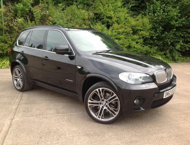 2012 BMW X5 3.0 40d M Sport SUV 5dr Diesel Automatic xDrive (s/s) (198 g/km, 306 bhp)