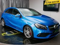 USED 2016 16 MERCEDES-BENZ A CLASS 1.5 A 180 D AMG LINE PREMIUM PLUS 5d 107 BHP £0 DEPOSIT FINANCE AVAILABLE, AIR CONDITIONING, AUX INPUT, BLUETOOTH CONNECTIVITY, CLIMATE CONTROL, COLLISION PREVENTION ASSIST, CRUISE CONTROL, DAYTIME RUNNING LIGHTS, HEATED SEATS, KEYLESS START, PANORAMIC ROOF, PARKING SENSORS, REVERSE CAMERA, SATELLITE NAVIGATION, START/STOP SYSTEM, STEERING WHEEL CONTROLS, TRIP COMPUTER, USB CONNECTION