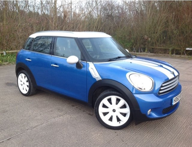 2010 60 MINI COUNTRYMAN 1.6 Cooper 5dr