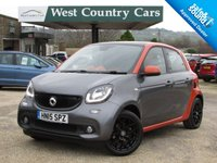 USED 2015 15 SMART FORFOUR 0.9 EDITION1 T 5d 90 BHP Stand Out Colour Combination, Massive Specification