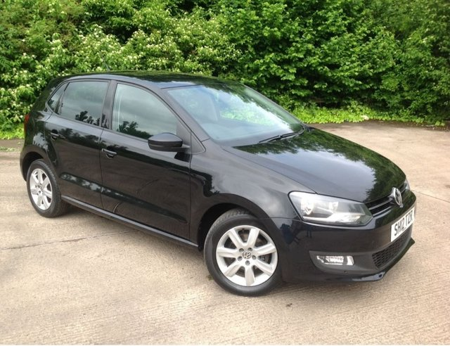 2012 12 VOLKSWAGEN POLO 1.2 Match 5dr