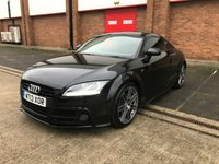 USED 2013 13 AUDI TT 2.0 TFSI BLACK EDITION 2d AUTO 208 BHP