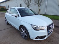 USED 2011 61 AUDI A1 1.4 TFSI SPORT 3d AUTOMATIC 122 BHP 1 OWNER ONLY 42,000 PART EXCHANGE AVAILABLE / ALL CARDS / FINANCE AVAILABLE