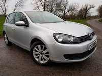 2011 VOLKSWAGEN GOLF 1.6 MATCH TDI 5d + 9 SERVICE STAMPS + 2KEYS + ALLOYS £4850.00