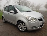 2010 VAUXHALL AGILA 1.2 DESIGN 5d + 2 FORMER KEEPERS + 2KEYS + ALLOYS £2775.00