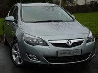 USED 2012 12 VAUXHALL ASTRA 1.6 SRI 5d AUTO 113 BHP SCARCE LOW MILEAGE AUTOMATIC