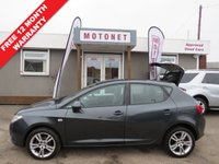 USED 2008 58 SEAT IBIZA 1.6 SPORT 5DR HATCHBACK 103 BHP