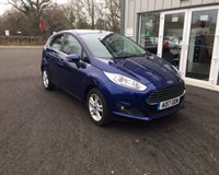 USED 2017 17 FORD FIESTA 1.25 ZETEC THIS VEHICLE IS AT SITE 1 - TO VIEW CALL US ON 01903 892224