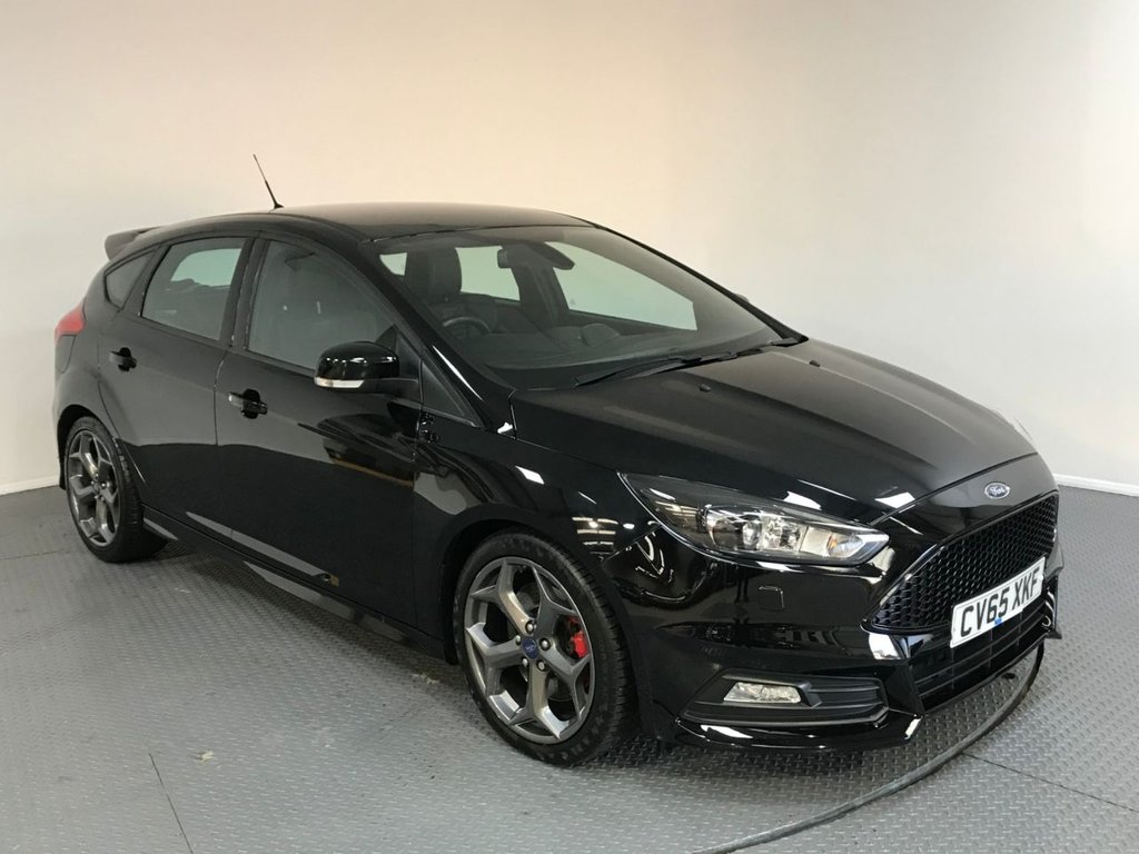 USED 2015 65 FORD FOCUS 2.0 ST-3 TDCI 5d 183 BHP SERVICE HISTORY - 1 OWNER - LEATHER - REAR SENSORS - DAB RADIO - BLUETOOTH - AIR CON - CRUISE