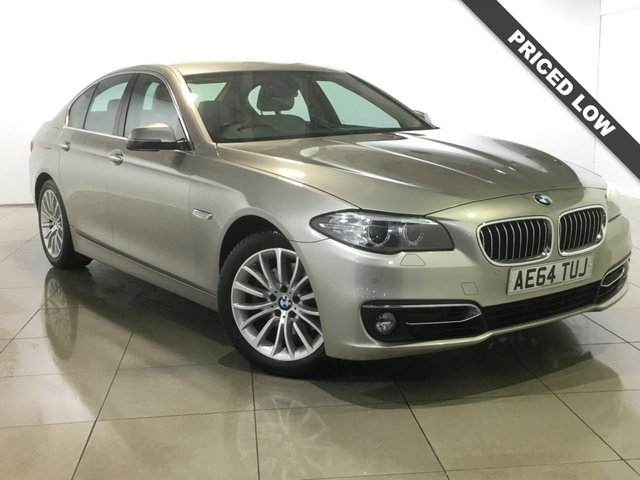 View our 2014 64 BMW 5 SERIES 2.0 520D LUXURY 4d AUTO 188 BHP