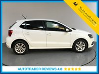 USED 2015 15 VOLKSWAGEN POLO 1.2 SE TSI 5d 89 BHP SERVICE HISTORY - PARKING SENSORS - BLUETOOTH - AIR CON - CRUISE CONTROL - DAB - STOP / START