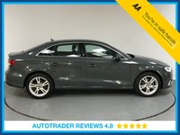 USED 2017 17 AUDI A3 2.0 TDI SPORT 4d 148 BHP FULL SERVICE HISTORY - BLUETOOTH - AIR CON - DAB RADIO - CRUISE CONTROL - STOP / START - USB