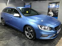 USED 2015 65 VOLVO V60 2.0 D4 R-DESIGN NAV 5d 178 BHP Only £20 a year road tax  :  Bluetooth    :    Satellite Navigation    :    DAB Radio    :    Wi-Fi    :    Rear parking sensors  :  R-Design contrasting leather upholstery + steering wheel   :   Full Volvo service history