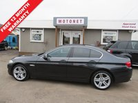 USED 2011 11 BMW 5 SERIES 2.0 520D SE 4DR SALOON DIESEL 181 BHP