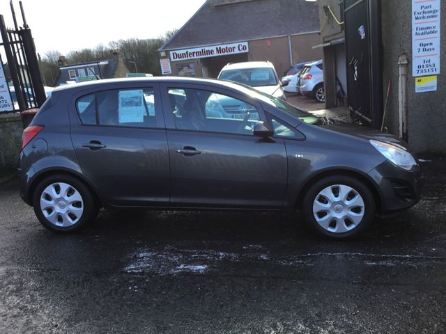 USED 2011 61 VAUXHALL CORSA 1.4 EXCLUSIV AC 5d 98 BHP ++SERVICE RECORD++