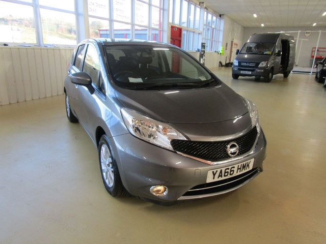 View our 2016 66 NISSAN NOTE 1.2 ACENTA 5d 80 BHP