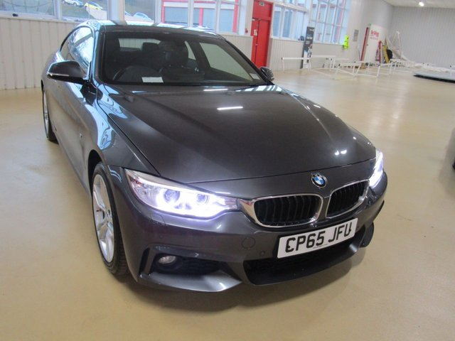 View our 2015 65 BMW 4 SERIES 2.0 420D XDRIVE M SPORT 2d 188 BHP