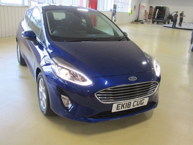 View our 2018 18 FORD FIESTA 1.0 ZETEC 3d 99 BHP