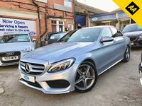 2015 MERCEDES-BENZ C CLASS 2.1 C220 BLUETEC AMG LINE PREMIUM 4d AUTO 170 BHP £17695.00