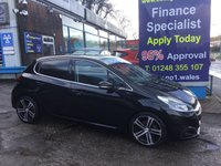 2015 PEUGEOT 208 1.6 BLUE HDI S/S GT LINE 5d 100 BHP, only 36000 miles, 1 Owner £8795.00