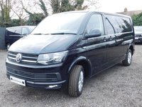 USED 2018 18 VOLKSWAGEN TRANSPORTER T30 TDI HIGHLINE LWB DSG  (AUTO) GEARBOX 150 BLUEMOTION EURO 6 Electric Folding Mirrors, Bulkhead with Fixed Window, Ply-lined, Heated Rear Window, Rear Wash Wipe.