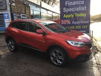 USED 2015 65 RENAULT KADJAR 1.5 DYNAMIQUE S NAV DCI 5d 110 BHP, only 27000 miles, 1 Owner ***APPROVED DEALER FOR CAR FINANCE247 AND ZUTO  ***