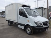 USED 2014 14 MERCEDES-BENZ SPRINTER 313 CDI AUTOMATIC MWB CHILLER WITH STANDBY, 130 BHP [EURO 5]
