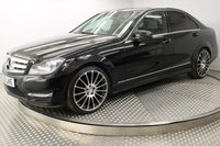 2012 MERCEDES-BENZ C CLASS C220 CDI BLUEEFFICIENCY AMG SPORT PLUS 4d AUTO 168 BHP