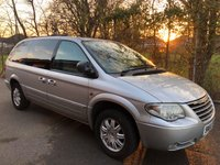 2006 CHRYSLER GRAND VOYAGER 3.3 LIMITED XS 5d 172 BHP £2995.00