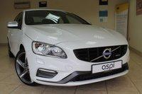 2014 VOLVO S60 2.0 D4 R-DESIGN NAV 4d 178 BHP £11950.00